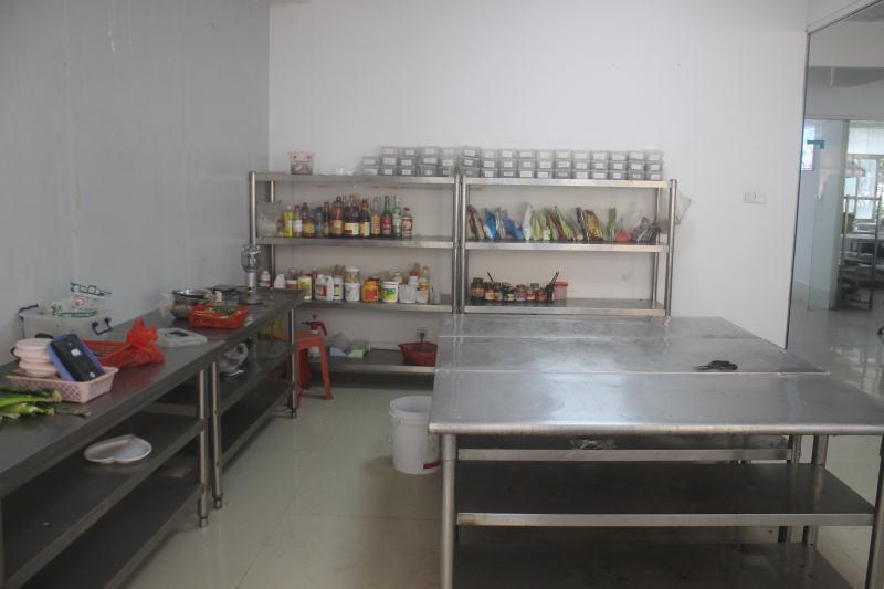 炒菜培训室