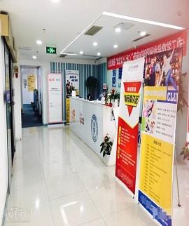 成都朗阁雅思培训学校走廊