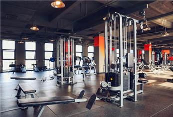 成都迈威健身-运动环境