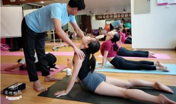 美俪阿萨娜瑜伽课堂动态