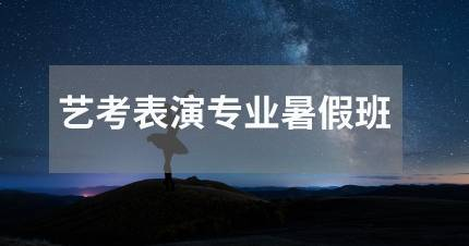 北京艺考表演专业暑假班