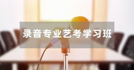 深圳录音专业艺考学习班