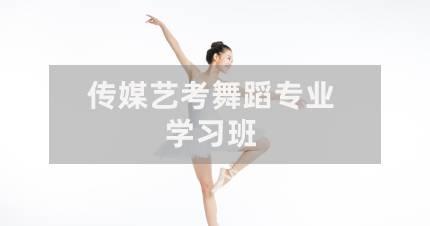 深圳传媒艺考舞蹈专业学习班