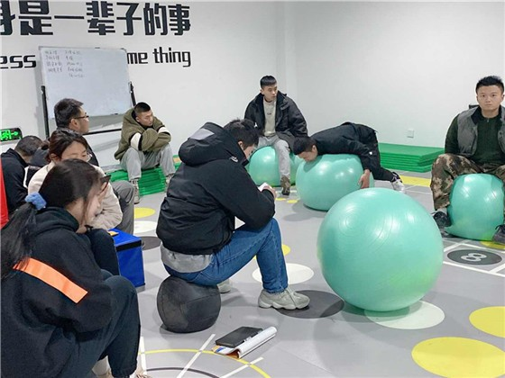 瑜伽球训练