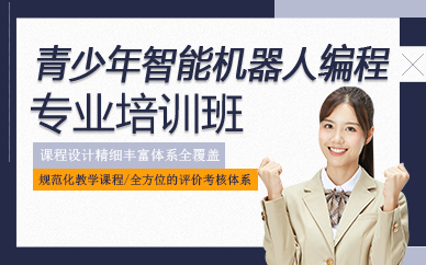 郑州青少年智能机器人编程专业培训班