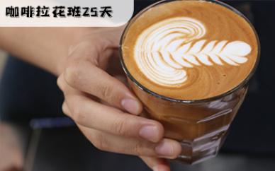 佛山咖啡拉花25天全能培训班