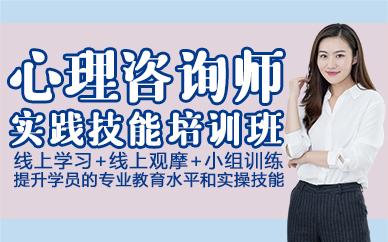 杭州心理咨询师实践技能培训班